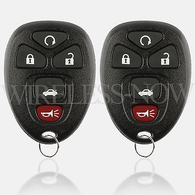 2 Car Key Fob Keyless Remote For 2006 2007 2008 2009 2010 2011 Cadillac Dts