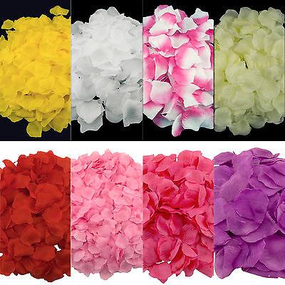 Silk Flower Rose Petals Wedding Party Table ...
