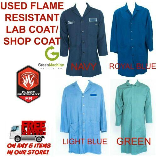 Flame Resistant FR Shop Coat Lab Coat Cintas, Unifirst, G&K