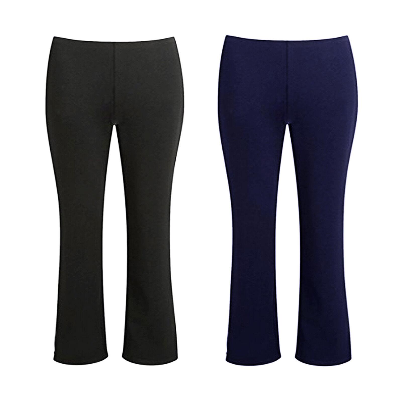 Girls Elasticated Waist Pull On Stretch School Trouser Only Uniform® UK