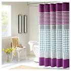 Purple Modern Shower Curtains