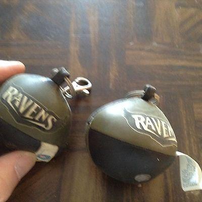 Baltimore ravens soft foam football shaped key chain or zipper pull (Foam Soft Football)