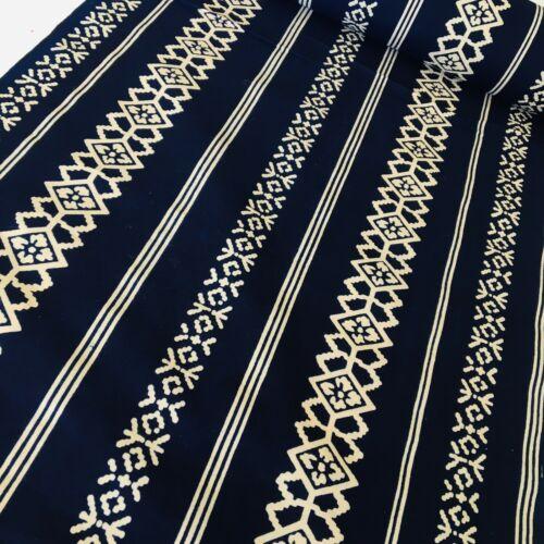 Bracelet #B Cotton Bolt By Yard Natural Dyed Japanese Yukata Kimono Fabric BC3