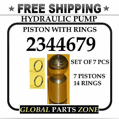 Hydraulic Pump Piston As Set For Caterpillar 2344679 234-4679 Free Delivery