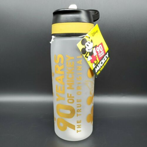 Disney Mickey Mouse Tritan Water Bottle 90 Years of Mickey 25 oz. NEW w/Tag