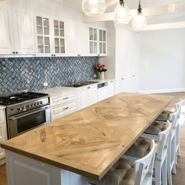 French Oak Table /kitchen Bench Top