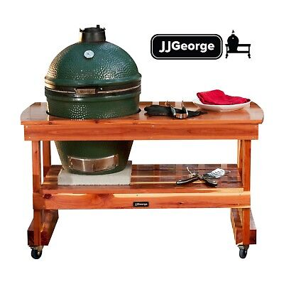 Big Green Egg Table with Cover (Free Shipping!) Long Table for Large Green Egg