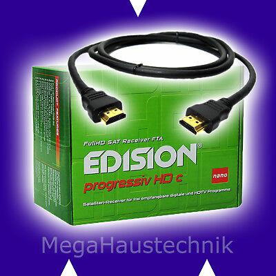 EDISION PROGRESSIV HDc NANO HDTV SAT RECEIVER EDISON RESEIVER RECIEVER RECIVER