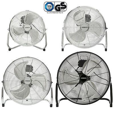 Arebos Bodenventilator Windmaschine Lüfter Standventilator Ventilator 30 - 50