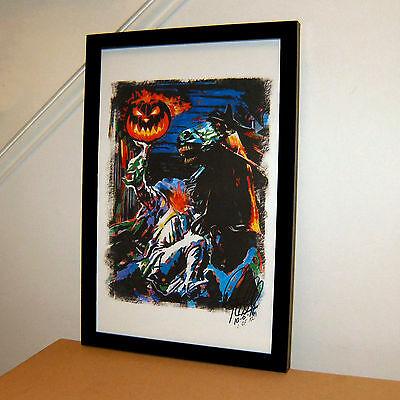 Headless Horseman Legend of Sleepy Hollow Halloween Print Poster Wall Art 11x17](Headless Horseman Sleepy Hollow Halloween)