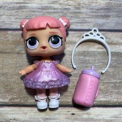 LOL Surprise Doll CENTER STAGE BABY Big Sis Sister Dolls Series 1 BALLERINA BABE