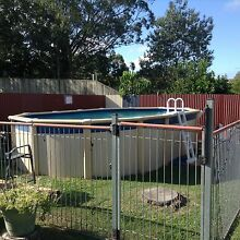 6x4 Above ground swimming pool + fence Mount Gravatt East Brisbane South East Preview