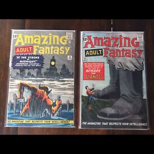 Amazing fantasy 13 and 14 , Stan Lee and Ditco !