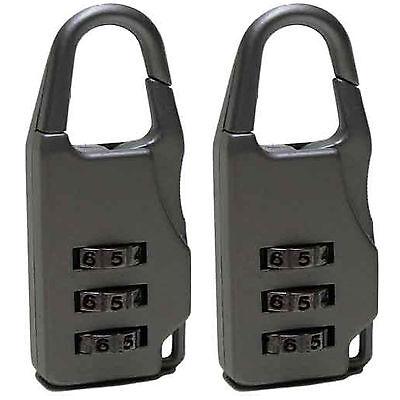 2 Stück Kofferschloß Gepäckschloß Zahlenschloß Koffer Schloß Reisetasche Koffer