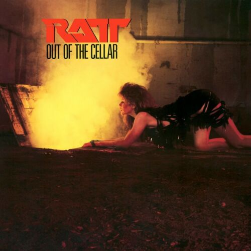 RATT Out of the Cellar BANNER HUGE 4X4 Ft Fabric Poster Tapestry Flag album art