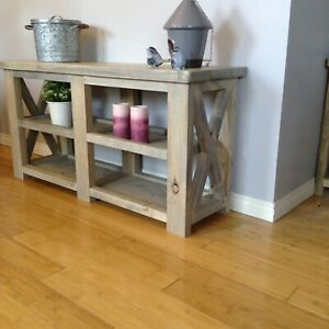 New Handmade TV Stand /Console Tables