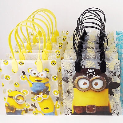Minions Birthday Party Favors Goody Gift Candy Bags Loot Bolsas Regalos Dulces (Minion Favors)