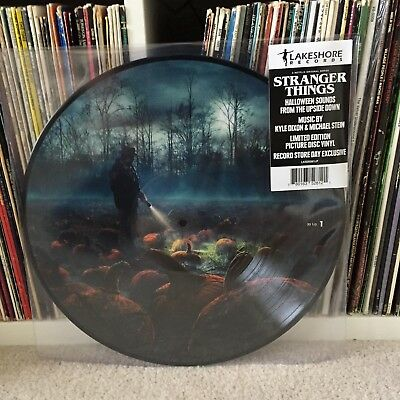 Stranger Things - RSD NEW Record Store Day Halloween Sounds from the Upside Down](Halloween Sounds Record)