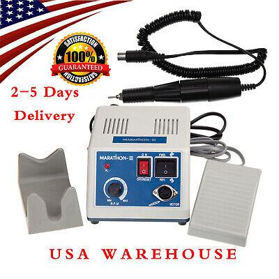 New Dental Lab Marathon Electric Micromotor35k Rpm Handpiece Polishing Unit Usa