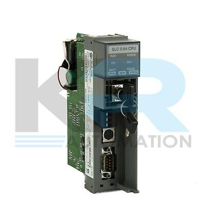 Allen Bradley 1747-l541 C Slc 500 Slc 504 Cpu Processor Module Frn 5 Read