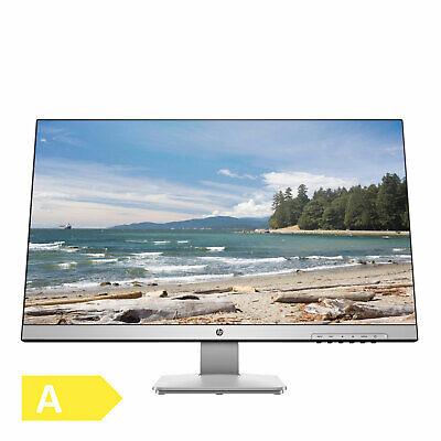 HP 27q 27 Zoll/68cm Monitor 2K 2560x1440 Bildschirm 16:9 2ms HDMI DVI DP Silber