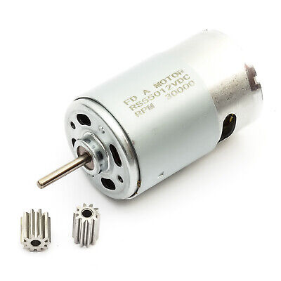 12v Dc Motor Eléctrico 30000 RPM 12 Voltio sin Cables Destornillador Herramienta