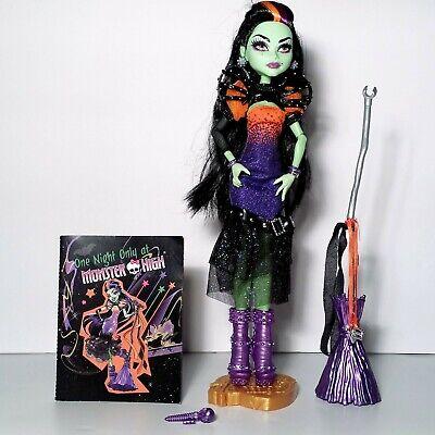 Monster High Halloween Witch Casta Fierce Doll Mattel 2014