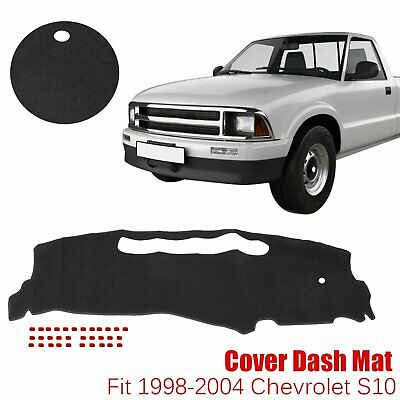 DashMat Car Dash Board Cover Dashboard Mat Fit For 1998-2004 Chevrolet S10