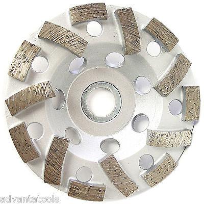 4 L-seg Diamond Grinding Cup Wheel For Concrete Masonry Stone 78-58 Arbor