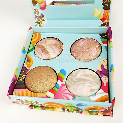 Baked Pops Highlighter Palette 4 Shades Baked Highlighters Beauty Creations