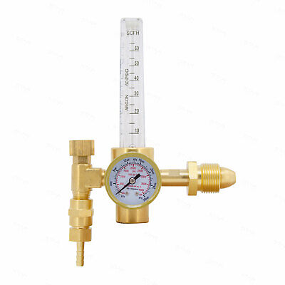 Argon Co2 Mig Tig Flow Meter Welding Regulator With Flowmeter Cga580 Cga-580
