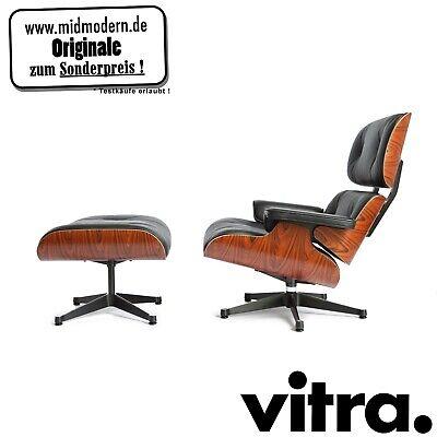 Usado, vitra Eames Lounge Chair XL + Ottoman Santos Palisander NEUWARE inkl. 19% MwSt.  segunda mano  Embacar hacia Spain