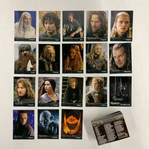 Lord of the Rings The Return of the King- Complete 90 Basic Cards Set (1-90)