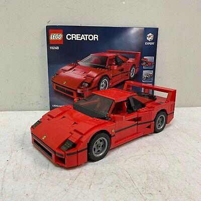 LEGO Creator Expert FERRARI F40  #10248 100% Complete w/ Manual