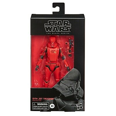 Star Wars 6 inch Black Series Sith Jet Trooper Rise of Skywalker New & MISB