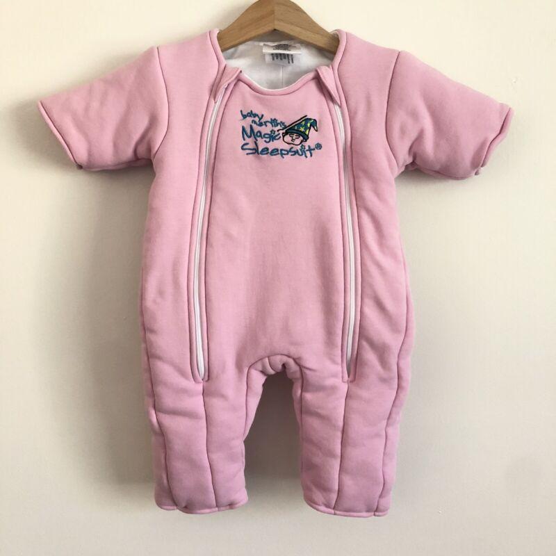 Baby Merlin's Magic Sleepsuit 3-6M 12-18lbs PINK