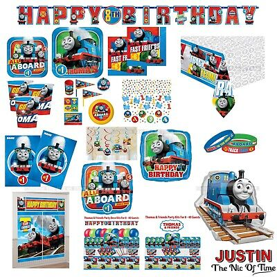 THOMAS & FRIENDS Boys Birthday Party Supplies Tableware - Clearance Party Supplies