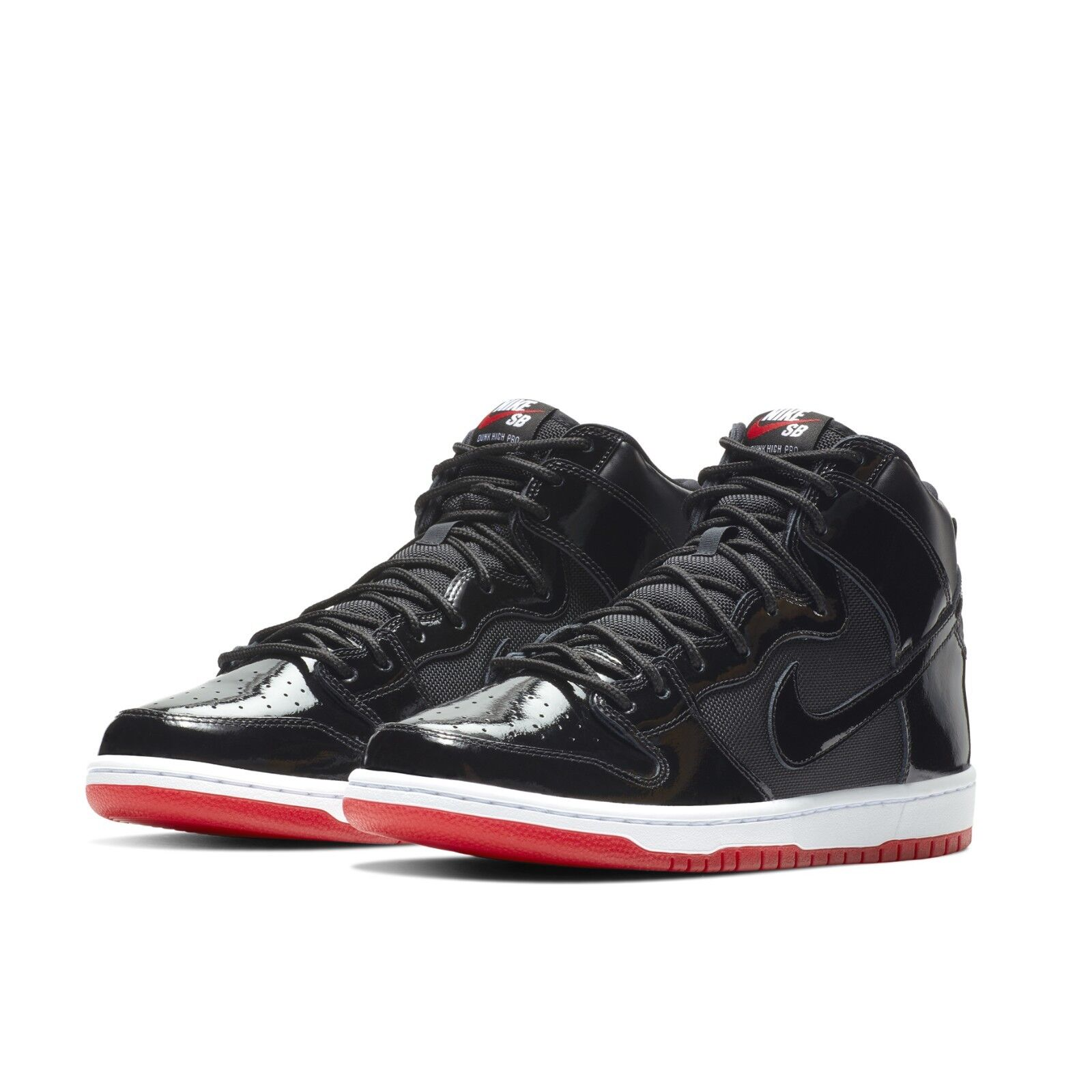 best sneakers d3430 b3eb4 ... clearance nike mens sb zoom dunk high tr qs rivals pack aj11 bred  skateboarding aj7730 001