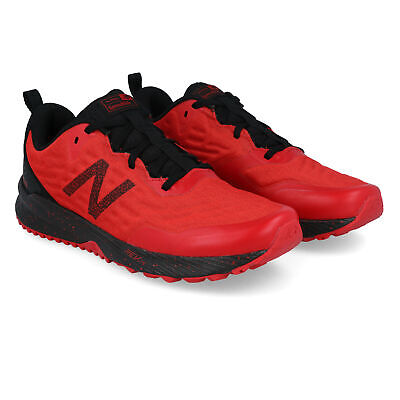 New Balance Mens Nitrel V3 Trail Running Shoes Trainers Sneakers Red Sports