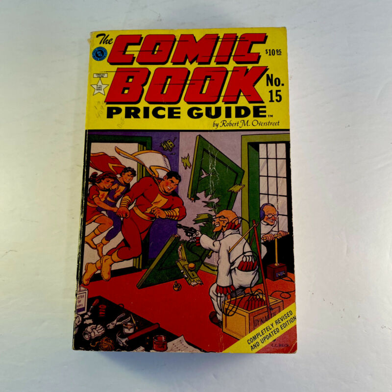 OVERSTREET - THE COMIC BOOK PRICE GUIDE #15 1985-86