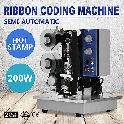 Ribbon Coding Machine Code Printer Electric Hot Stamp Adjustable Hp-241b Us