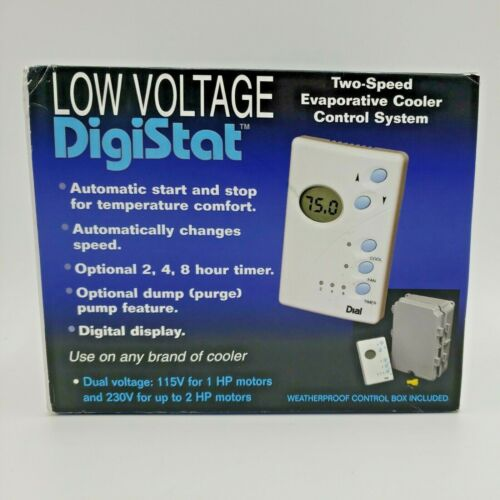 DigiStat Two Speed Low Voltage Evaporative Cooler Control System - 7624