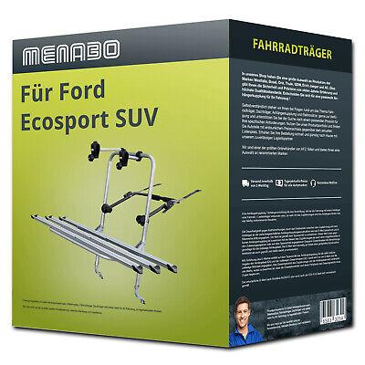 Menabo Fahrradträger Logic 3 für Ford Ecosport SUV 3 Fahrräder  NEU