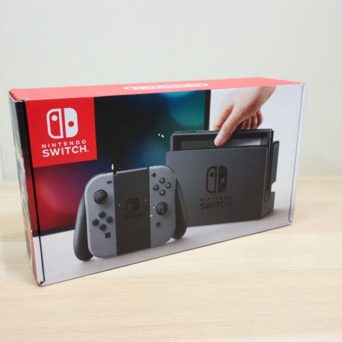 Nintendo Switch Original Gray Joy Con System Console Case EMPTY RETAIL BOX ONLY