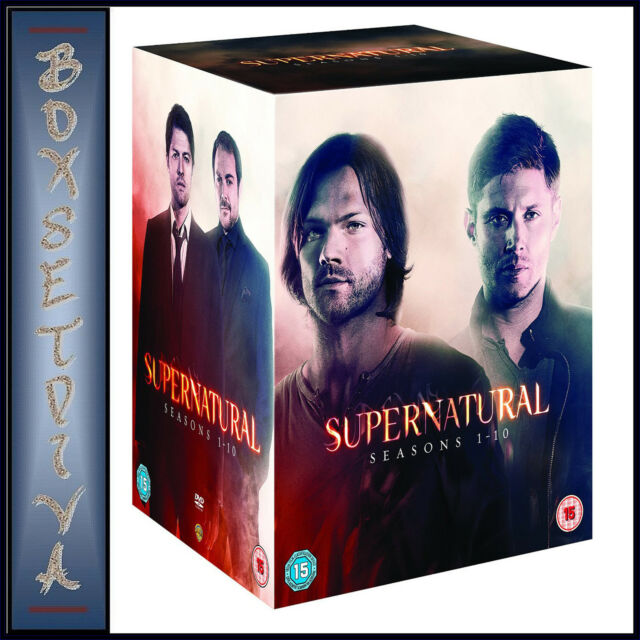SUPERNATURAL - COMPLETE SEASONS 1 2 3 4 5 6 7 8 9 & 10 **BRAND NEW DVD BOXSET***