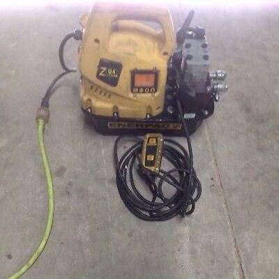 Enerpac Electric Hydraulic Pump Zu4204tb-q 115 Volts