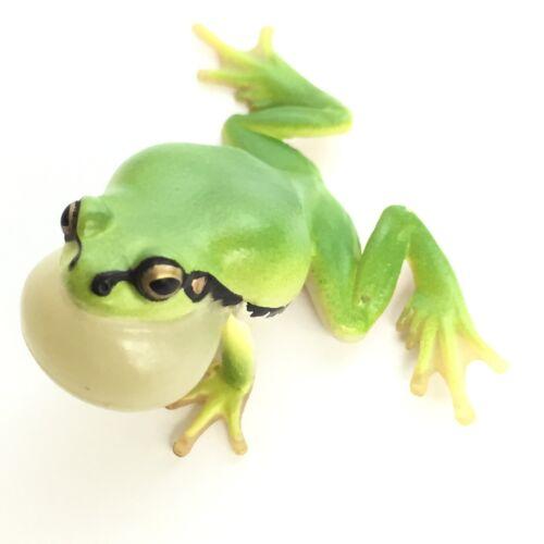 Nature Techni Colour Mini Figure Magnet Japanese Tree Frog vocal sac Ikimon