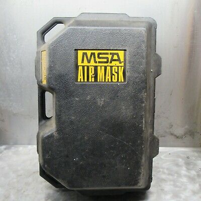 Msa Ultralite Ppe Air Pack Regulators And Mask And Case Model Number 5-447-1