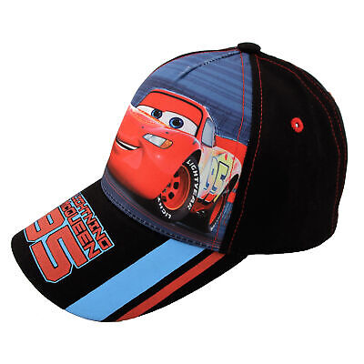 Disney Cars Lightning McQueen Character Cotton Baseball Cap,Toddler Boys,Age 2-4