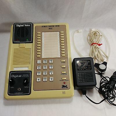 Dvi-115 At100 Dictation Transcriber Phone Machine Digital Voice Tested